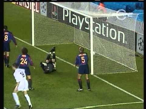 2000 October 24 Leeds United England 1 Barcelona Spain 1 Champions League