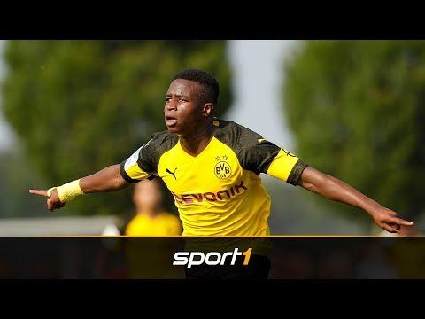 FC Barcelona heiß auf Wunderkind Moukoko vom BVB   SPORT1 – TRANSFERMARKT