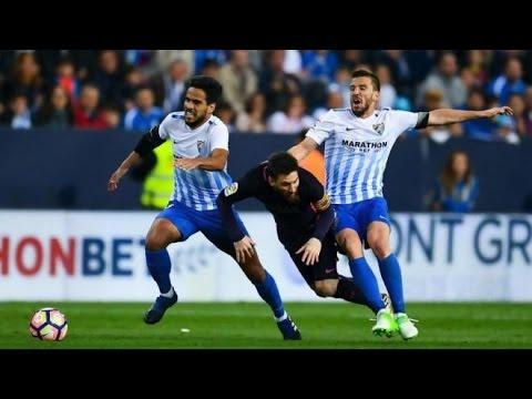 Malaga vs FC Barcelona 2-0 April 8th 2017 All Goals and Highlights!