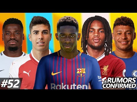 Transfer News #52 | Dembele Welcome to Barcelona! Confirmed Transfers & Rumors ft. Asensio, Sanches