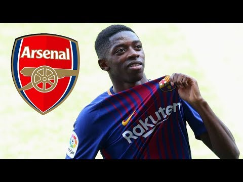 Barcelona star Ousmane Dembele asks Arsenal to sign him this summer ● News Now ● #AFC