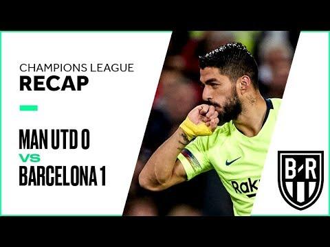 Manchester United vs Barcelona Champions League Quarterfinals Leg 1 FULL Match Highlights: 0-1