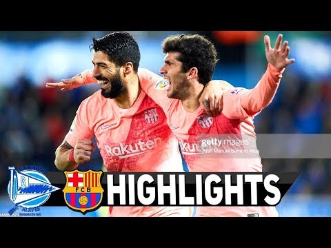 Alaves vs Barcelona 0-2 – Highlights & Goals Resumen & Goles 2019 HD
