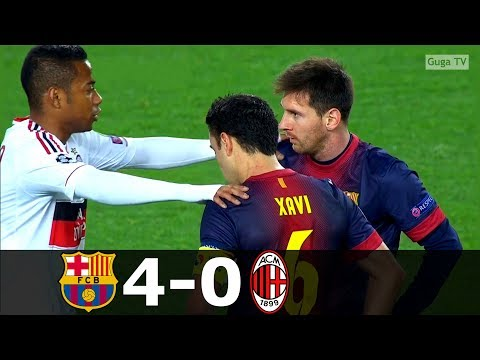 Barcelona vs Milan 4-0 – UCL 2012/2013 (2nd Leg) – Full Highlights HD