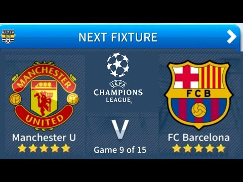 Manchester United Vs FC Barcelona | UCL Dream League Soccer | #6 4K Gameplay