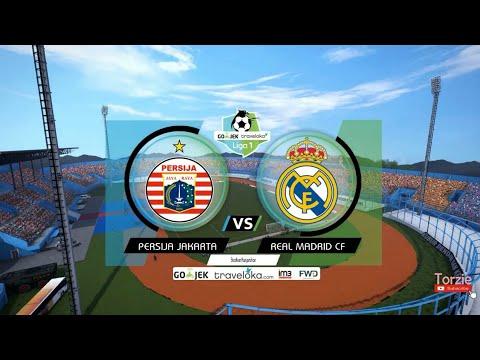 PERSIJA VS REAL MADRID – WORLD TOUR – PES 2017