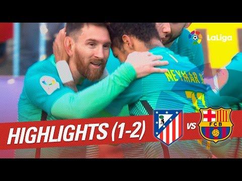 Resumen de Atlético de Madrid vs FC Barcelona (1-2)
