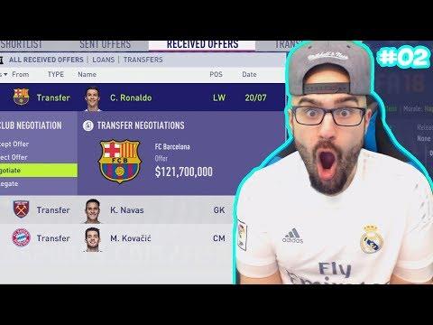 WTF BARCELONA OFFER $130,000,000 for CRISTIANO RONALDO! – FIFA 18 Career Mode #02