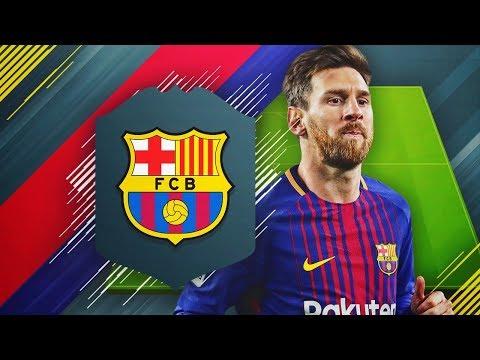 LA MEJOR PLANTILLA DEL BARCELONA DE FIFA 18!! | LA GRAN LIGA