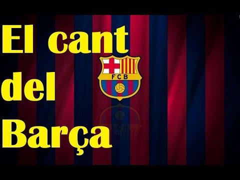 El Cant del Barça Anthem – Barcelona chant with LYRICS
