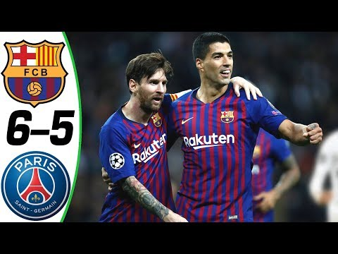 Barcelona vs PSG 6-5 – All Goals & Extended Highlights RÉSUMÉ Y GOLES ( Last Matches ) HD