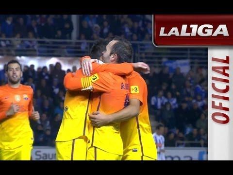 La Liga | Deportivo Alavés – FC Barcelona (0-3) | 30-10-2012 | 1/16 ida | Resumen