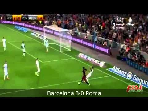 Cuplikan Gol Barcelona vs Roma 3-0 Friendly Match 5 Agustus 2015