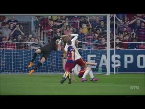 FIFA 16 – UEFA Champions League – FC Barcelona vs AS Roma Gameplay (HD) [1080p60FPS]
