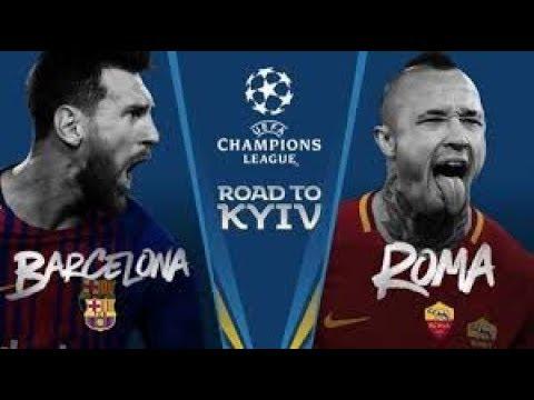 FC Barcelona Vs AS Roma Promo Champions League 2017/18 By RoadToSoccer