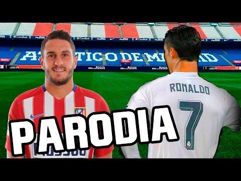 Canción Atletico Madrid vs Real Madrid 0-3 (Parodia Shakira – Chantaje ft Maluma) 2016/2017