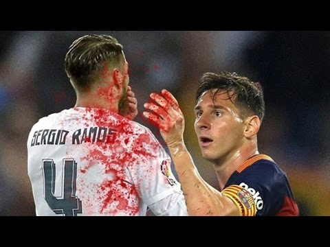 El Clasico 2016 Barcelona vs Real Madrid ᴴᴰ ● Dirtiest Tackles, Fouls, Fights and Dives!