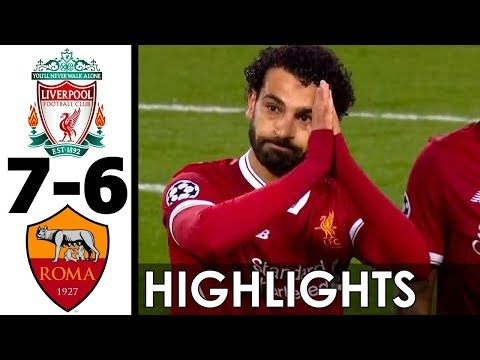 Liverpool vs AS Roma 7-6 All Goals and Highlights w/ English Commentary (UCL) 2017-18 HD 720p