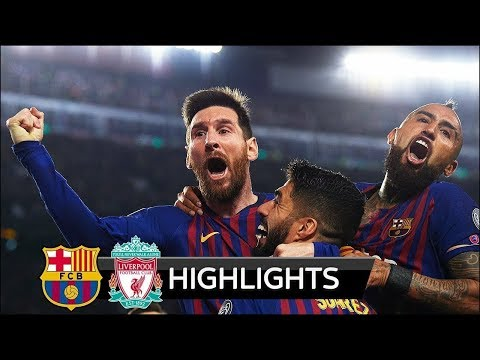 Barcelona vs Liverpool 3-0 – All Goals & Extended Highlights – 01/05/2019 HD -From stands
