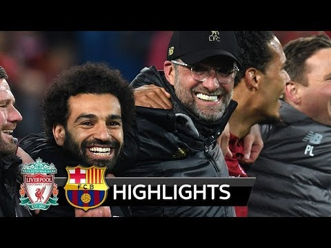 Liverpool vs Barcelona goals and highlights  UEFA Champions League FIFA