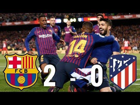 Barcelona vs Atletico Madrid [2-0], La Liga 2019 – MATCH REVIEW