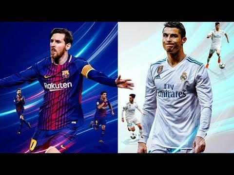 ¡EL CLÁSICO! BARCELONA vs REAL MADRID (Simulación) + SORTEO PS4 | FIFA 18