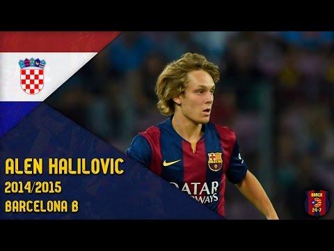 Alen Halilović 2014/2015 ● Barcelona B