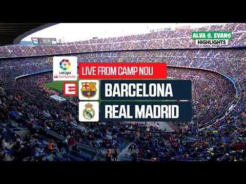 Barcelona vs Real Madrid 5 – 1 All Goals 28 -10-2018