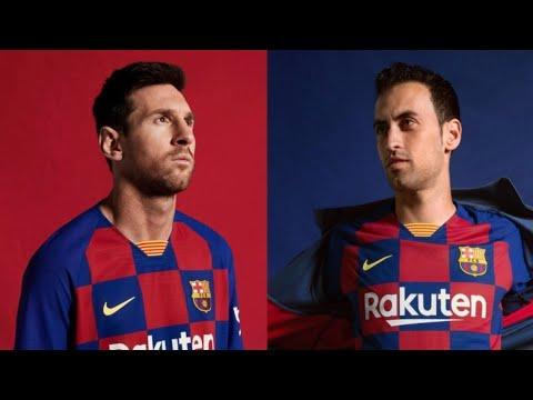 Football Kits 2019-20 | Barcelona, Manchester United, Chelsea…
