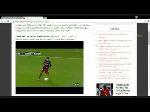 FC Barcelona vs AS Roma Live Stream Free