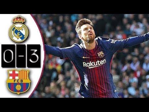 Real Madrid 0-3 Barcelona | Full Match | Partido Completo | Liga 2017/2018