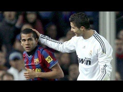 Cristiano Ronaldo vs Dani Alves – Provocations and Humiliations