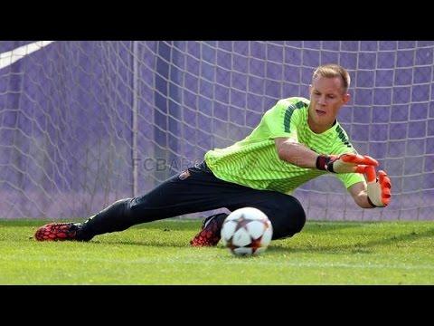 Ter Stegen In Training   Training session 16/09   FC Barcelona 2014/15 HD