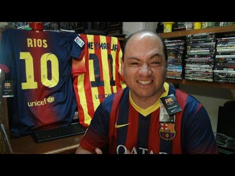 Jersey Nike Club Barcelona España Messi y Neymar 2013-2014