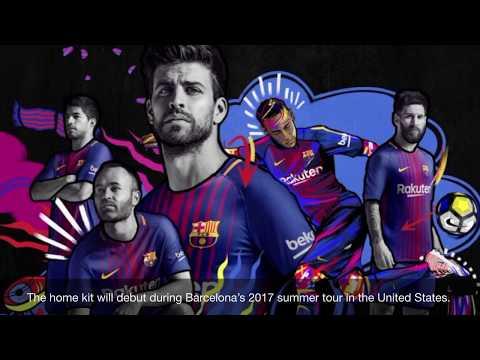 Nike  FC Barcelona 2017/2018 Home Jersey