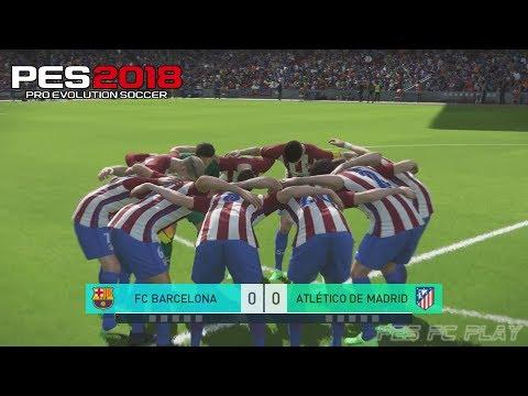 PES 2018 PC – PENALTY SHOOTOUT / DISPUTA POR PÊNALTIS – BARCELONA vs ATLÉTICO MADRID