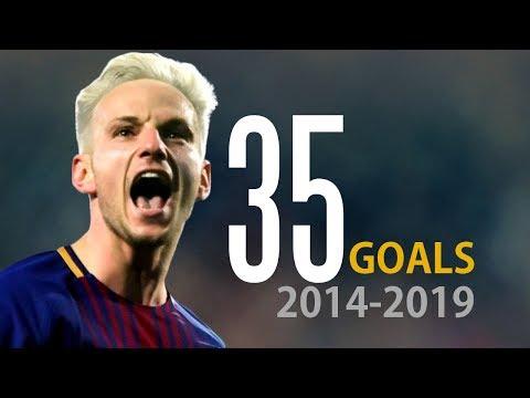 Ivan Rakitic ● All 35 Goals for FC Barcelona ● 2014-2019 ● 1080p