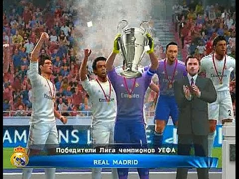 PES 2014 (PS2) Champions League – FINAL – Barcelona vs Real Madrid