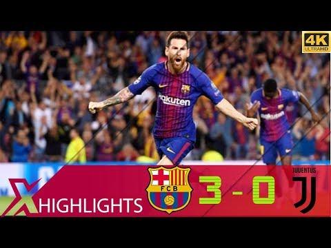 Barcelona vs Juventus 3-0 Extended Highlights & All Goals – UCL 17/18 – UHD 4K