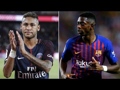 Barcelona Transfer News Round-up ft Neymar & Ousmane Dembélé