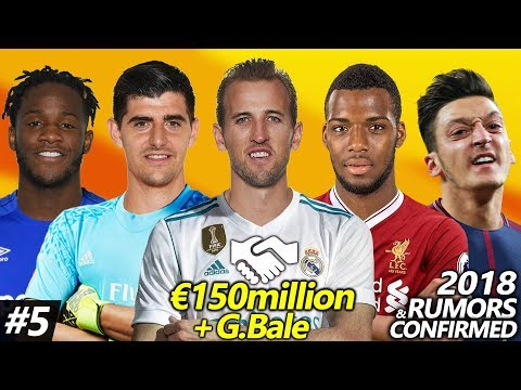 Latest Transfer News Winter 2018 #5 – Confirmed & Rumours | €150m plus G.Bale, H.Kane to Real?