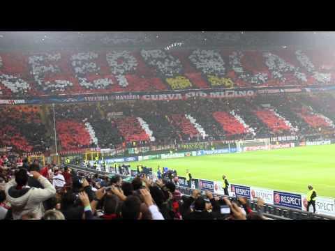 AC Milan vs Barcelona – San Siro, Milano – Uefa Champions League Introduction