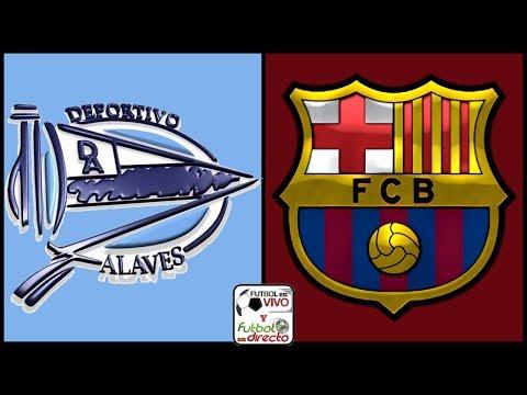 ⚽ ALAVES VS BARCELONA EN VIVO ⚽ LALIGA SANTANDER