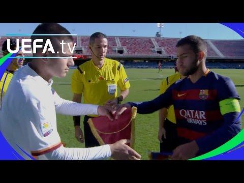 Barcelona 3-3 Roma: UEFA Youth League highlights