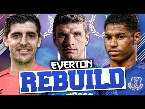 REBUILDING EVERTON!!! FIFA 18 Career Mode