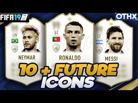 FIFA 19   10+ Current Football Players who will Become ICONS ft. Ronaldo, Messi, Neymar  @Onnethox