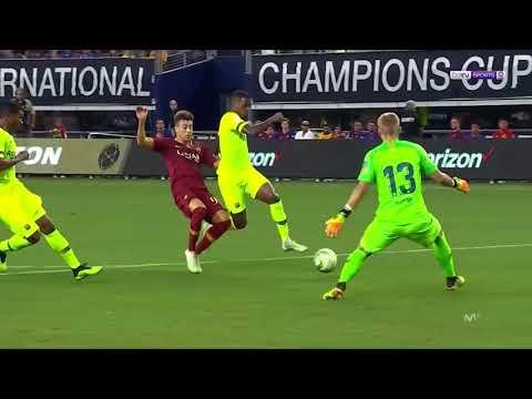 Barcelona vs Roma 2-4 • All Goals & Highlights • Malcom Scored 2018
