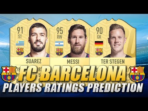 FIFA 20 | FC BARCELONA PLAYERS RATINGS PREDICTION | w/ Messi, Suarez & Ter Stegen