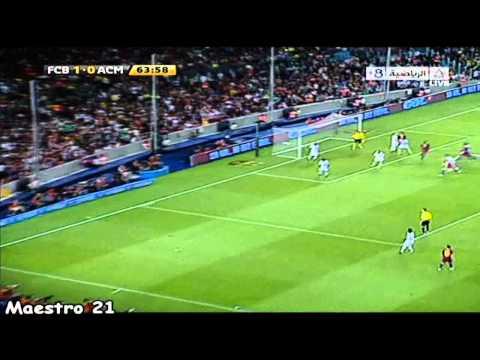 Highlights Barcelona 1-1 AC Milan – 25-08-2010