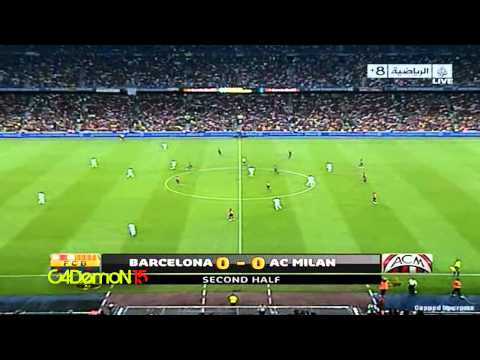 Ronaldinho vs FC Barcelona 2010 Joan Gamper Cup